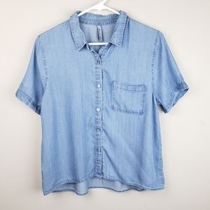 NWOT! | Lovemarks | Chambray Button Down